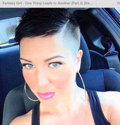 Die Kurzhaarfrisur nicht kurz genug Sehr schöne rasierte Frisuren! | http://www.neuefrisur.com/kurzhaarfrisuren/die-kurzhaarfrisur-nicht-kurz-genug-sehr-schone-rasierte-frisuren/2207/