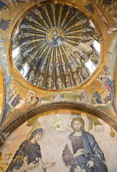 Chora Church, Istanbul, Turkey, The Church of the Holy Saviour in Chora is considered to be one of the most beautiful surviving examples of a Byzantine church