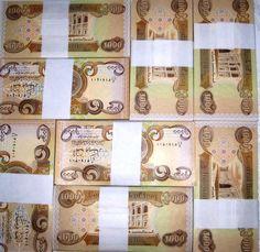 Small Iraqi DInar Notes