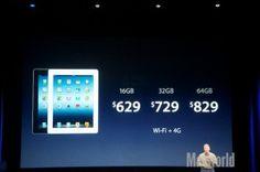 Apple revela novo iPad