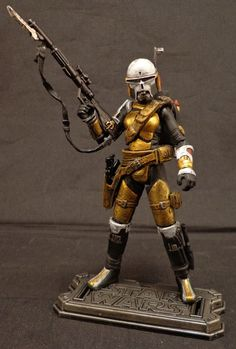 Mandalorian Sniper (Star Wars) Custom Action Figure