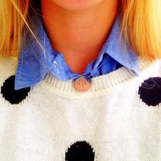 When in doubt, add a monogram! We love our Monogrammed Scalloped Necklaces!  #marleylilly #monograms #scallops #preppylove