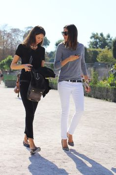 French Vogue - White jeans