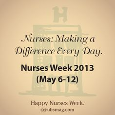 So True!!! Nurses help and change someones life every day! Go thank a nurse today :)