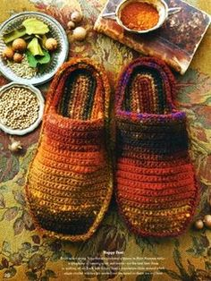Knitted Slippers!  Noro Magazine Premiere Issue - Fall 2012: Book by Noro | Knitting Fever