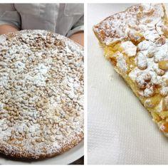 Torta della Nonna - una receta más parecida a la original. Nada de queso crema. Solo rica crema pastelera! Receta de la famosa tarta italiana, típica de Liguria y Toscana.