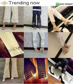 Plazzo Pants, Salwar Pants, Trouser Pants, Ankle Pants, Salwar Designs, Blouse Designs, Sleeves Designs For Dresses, Sleeve Designs, Indian Designer Outfits