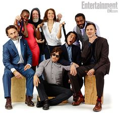 The Walking Dead cast at Comic Con 2013    Norman Reedus, David Morrissey, Andrew Lincoln, etc etc