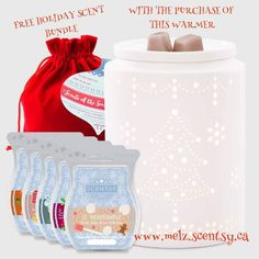 ☞FREE GIVEAWAY ALERT ☜ No matter which way you look at it this is an amazing deal, total savings of $32 👀 Get this beautiful seasonal warmer and a free bundle of wax, It's the perfect gift for anyone.🎁 This offer will DEFINITELY not last!!! Available starting November 17th only while supplies last, I'm taking pre-orders with payment now.  Order going in tomorrow !!