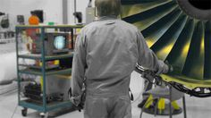 Beautiful GIFs from the floor of GE Aviation's jet engine facility in Wales. By  Adam Senatori. #Aviation