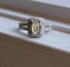 I love emerald shaped diamonds