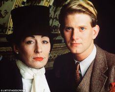 Stage presence: James Wilby with Anjelica Huston in 1988 film Handful of Dust