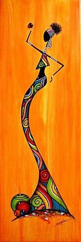 Black Love Art African Americans Africa New Ideas Afrique Art, African Paintings, Arte Country, Art Africain, Afro Art, African American Art, Tribal Art, Black Art, Abstract Art