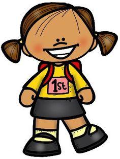 Girl Clipart, Cute Clipart, School Frame, Preschool Learning Activities, Math For Kids, Classroom Themes, Textbook, Art Images, Cute Kids