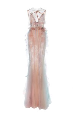 Marchesa Satin Gown