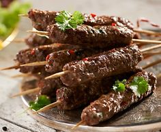 Grillowane kebabczety wołowe #lidl #przepis #grill