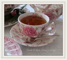 "Rose Chintz Cottage: ""Celebrate the Season"" Christmas Tea"