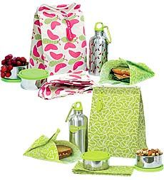 Waste-Free, Reusable Lunch Kit and Snack Packs--I think every single one of the kids needs this for school in the fall.  It's adorable and eco-friendly!