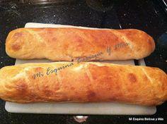 Pan de Agua Puertorriqueño(Puerto Rican Water Bread)    Este receta de pan pertenece a Latin Food Latin Food .Para hacerte la receta ...
