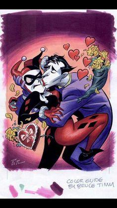 Harley Quinn & the Joker Bruce Timm