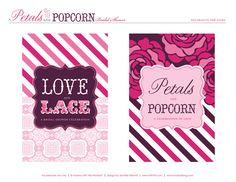 Petals & Popcorn Bridal Shower {Part 2} Party Decor + Free Printables