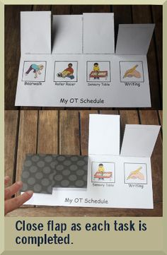 mice and simple visual. Article on Schedules used in the classroom to help students understand expectations - Pinned by LessonPix Autism Activities, Autism Resources, Shape Activities, Therapy Activities, Speech Language Therapy, Speech And Language, Speech Therapy, Occupational Therapy, Autism Classroom