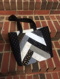 123 Quilt: Jolly Braid Tote Bag - A Fat Quarter Shop Quilt Along