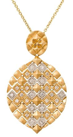 RevaBella Gold Silk collection pendant