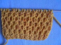 Вязание спицами: патентный узор