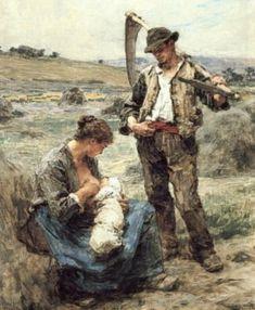 turk-sanat - Leon Augustin Lhermitte