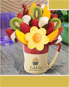 As fun to look at as it is to eat! Fruit Basket Delivery, Edible Fruit Arrangements, Bouquet Delivery, Fruit Gifts, Get Well Gifts, Food Decoration, Holiday Treats, Fresh Fruit, Gift Baskets