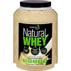 Bodylogix - 1611425 - Protein Powder - Natural Whey - Vanilla Bean - 1.85 lb