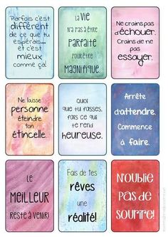Wedding Quotes : nice Citation - mes stickers: inspiration et motivation - Wedding Lande Positive Attitude, Positive Thoughts, Quotes Positive, Positive Motivation, Positive Psychology, Attitude Quotes, Material Didático, Quote Citation, French Quotes