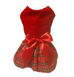 Red Velvet Christmas Dress