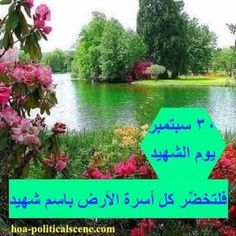 #Sudanese_Martyrs_Actions: in 30 September for every martyr's family to make the earth green by planting the martyr's trees. Idea and project prepared by #Sudanese_journalist #Khalid_Mohammed_Osman