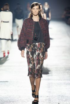 visual optimism; fashion editorials, shows, campaigns & more!: dries van noten s/s 14 paris