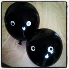 Balloons for our #totoro party