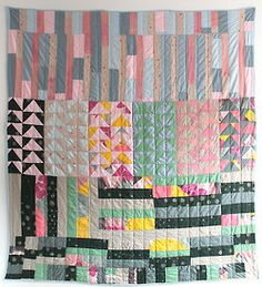 "by gina rockenwagner! / Nani Iro fabric is a joy to work with! 97"" x 87"""