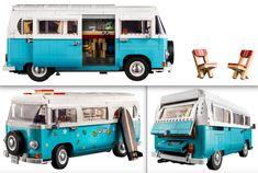 The Lego Car Blog | The Best LEGO Cars on the Web! | LEGO News, Reviews & MOCs | Cars, Trucks, Sci-Fi, Aircraft & More Lego Car, Lego Kits, Lego Creator, Camper Van, Volkswagen, Aircraft, Sci Fi, Trucks, Cars