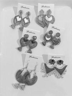 jewelryclub | Buy Jewellery Online in India at Low prices jewelryclub.in........ Silver Jewellery, Metal Jewelry, Silver Earrings, Buy Jewellery Online, Oxidized Silver, Ear Rings, Black Metal, Cod, Filigree