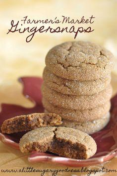 Gingersnaps cookies