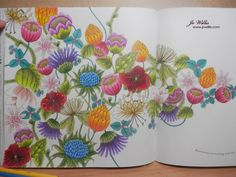 Here I Go Again: Millie Marotta - Tropical Wonderland - 1st page - flowers