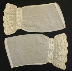 Sleeves (Undersleeves)  ca. 1860