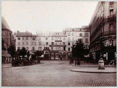 Rue d'Erfurth en 1875