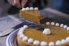 Pumpkin Pie with Gingersnap Crust (autoimmune paleo!)