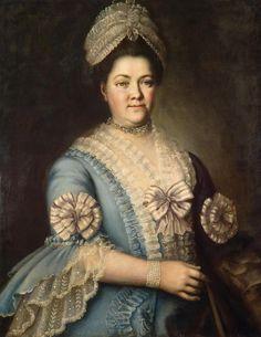 Unknown artist  Portrait of a Woman  Russia, 1770s