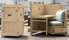 CRATES Folding Furniture