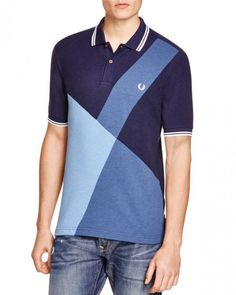 d3056aca1c6a Fred Perry Color Block Slim Fit Polo Shirt  men spoloshirts  men s  polo   shirts  fred  perry