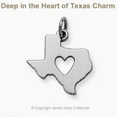 James avery charm Deep in the heart of Texas