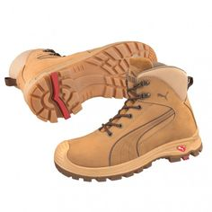 Puma Nullarbor Zip Side Safety Boots Wheat 630367 - Puma Safety - Brands  42855a386